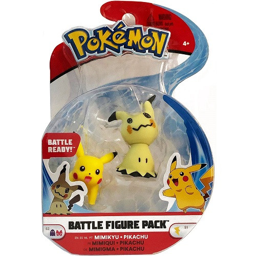 Pokemon Battle Figure Pack - Mimikyu & Pikachu