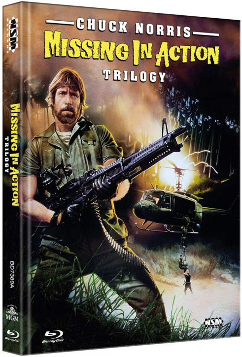 Missing in Action 1-3 - Limited Collector's Edition - Cover A [Blu-ray]