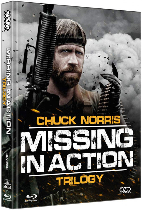 Missing in Action 1-3 - Limited Collector's Edition - Cover B [Blu-ray]