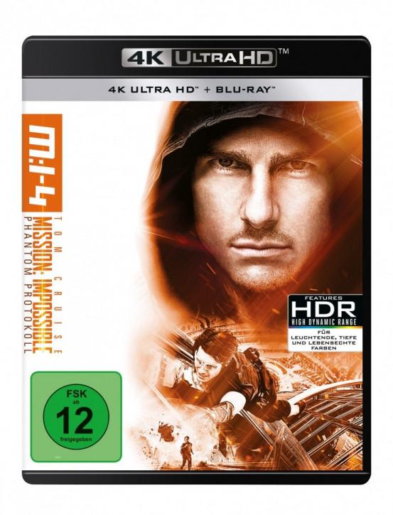 Mission: Impossible 4 - Phantom Protokoll [4K UHD+Blu-ray]