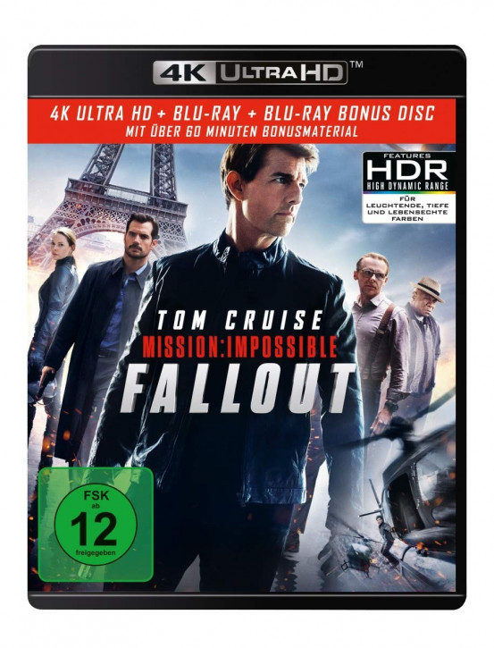 Mission: Impossible 6 - Fallout [4K UHD+Blu-ray]