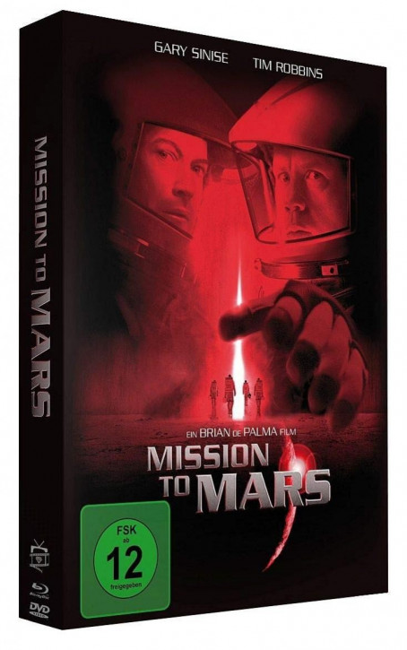 Mission to Mars - Special Edition Mediabook [Blu-ray+DVD]