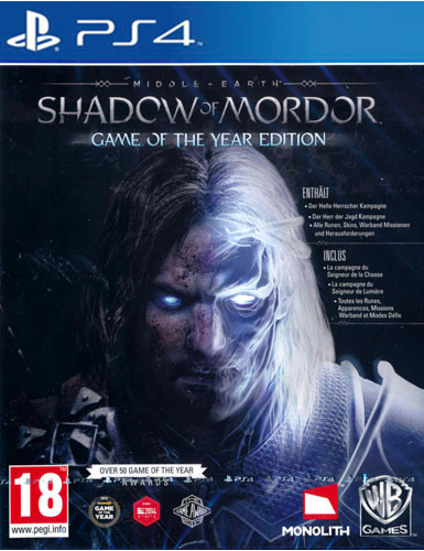 Mittelerde Mordors Schatten - Game of the Year Edition [PS4]