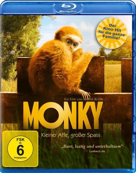 Monky - Kleiner Affe, großer Spass [Blu-ray]