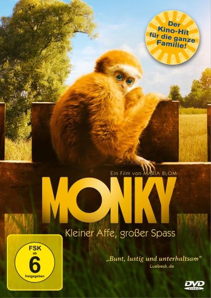 Monky - Kleiner Affe, großer Spass [DVD]