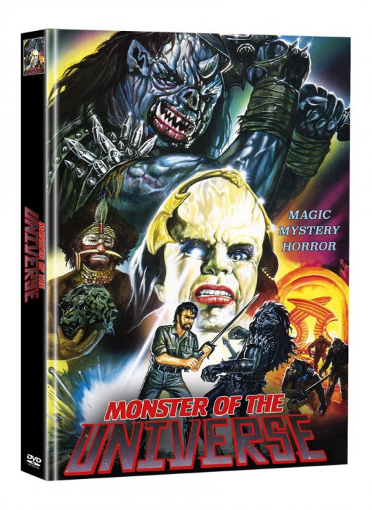 Monster of the Universe - Limited Mediabook Edition (Super Spooky Stories #55) - Cover A [DVD]