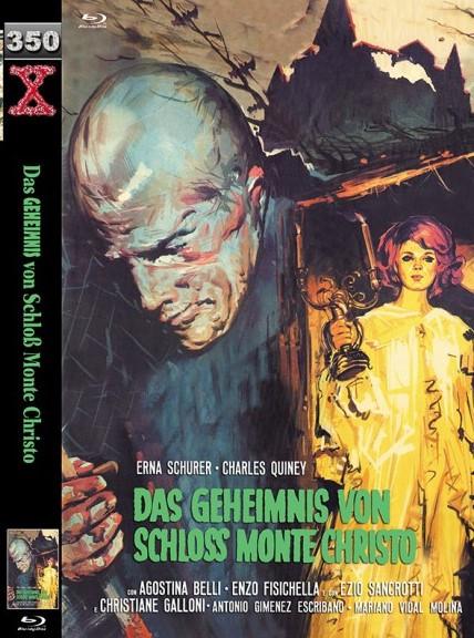 Das Geheimnis von Schloss Monte Christo - große Hartbox - Cover B [Blu-ray]