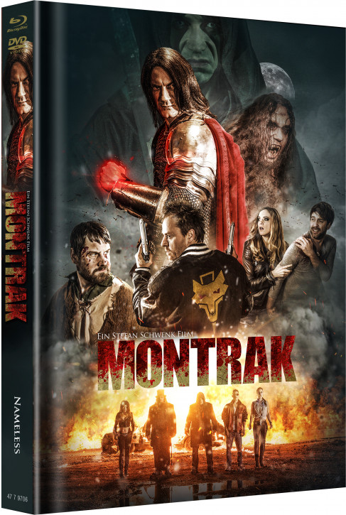 Montrak - Limited Mediabook Edition - Cover A [Blu-ray+DVD]