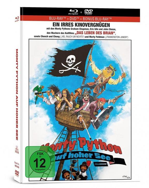 Monty Python auf hoher See (Dotterbart) - Limited Mediabook Edition [Blu-ray+DVD]