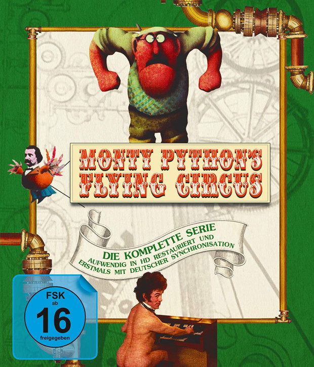Monty Pythons Flying Circus - Die komplette Serie [Blu-ray]