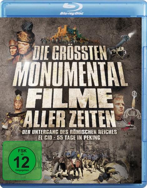Die größten Monumentalfilme aller Zeiten [Blu-ray]
