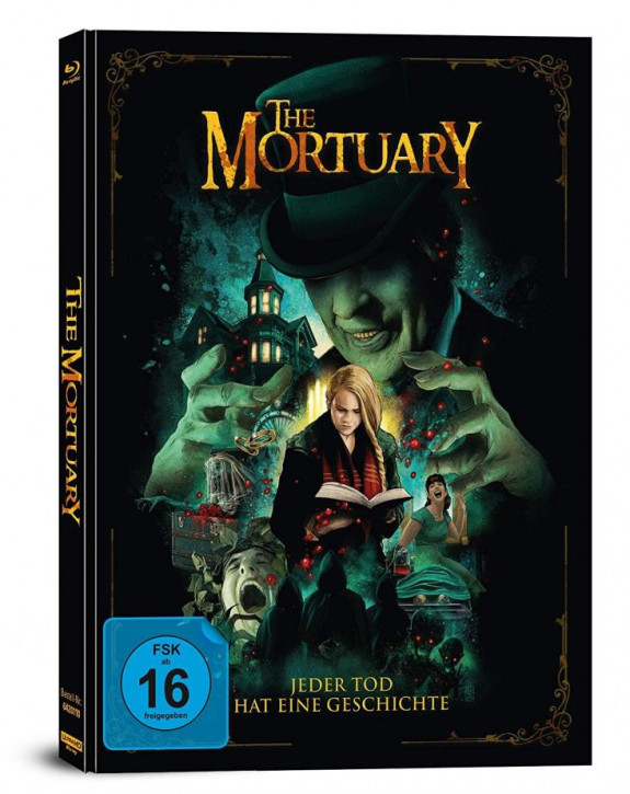The Mortuary - Jeder Tod hat eine Geschichte - Limited Mediabook Edition [4K UHD+Blu-ray]
