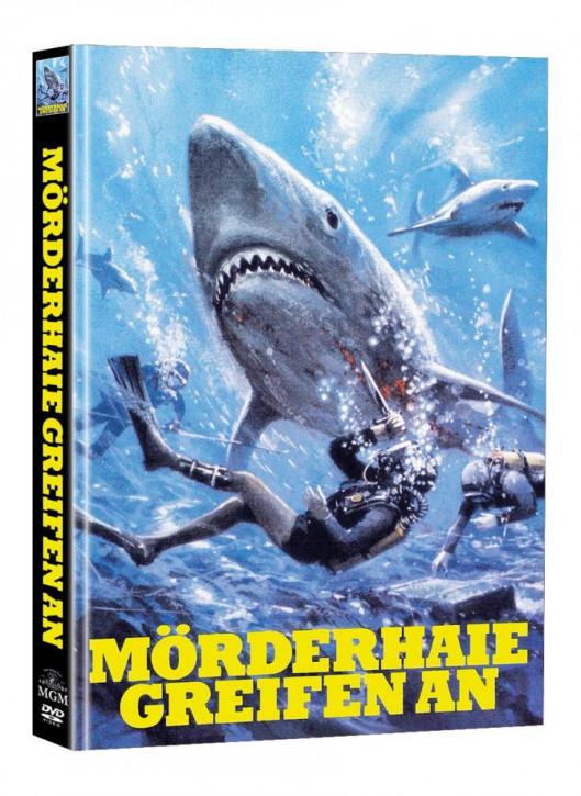 Mörderhaie greifen an - Limited Mediabook Edition (Super Spooky Stories #140) - Cover A [DVD]