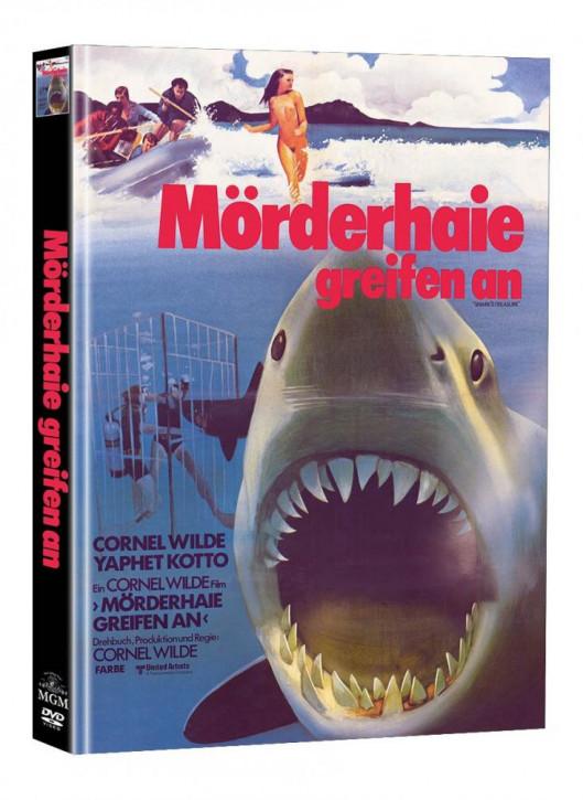 Mörderhaie greifen an - Limited Mediabook Edition (Super Spooky Stories #140) - Cover B [DVD]