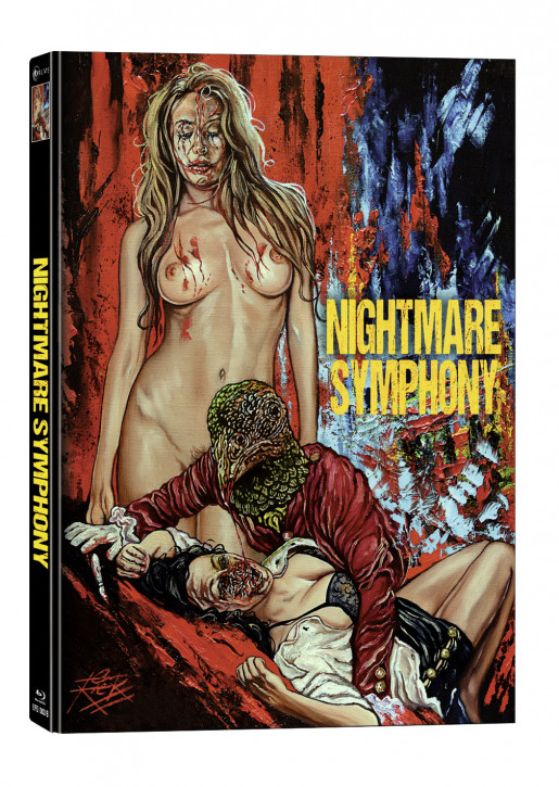 Nightmare Symphony - Limited Mediabook Edition - Cover B [Blu-ray+DVD]