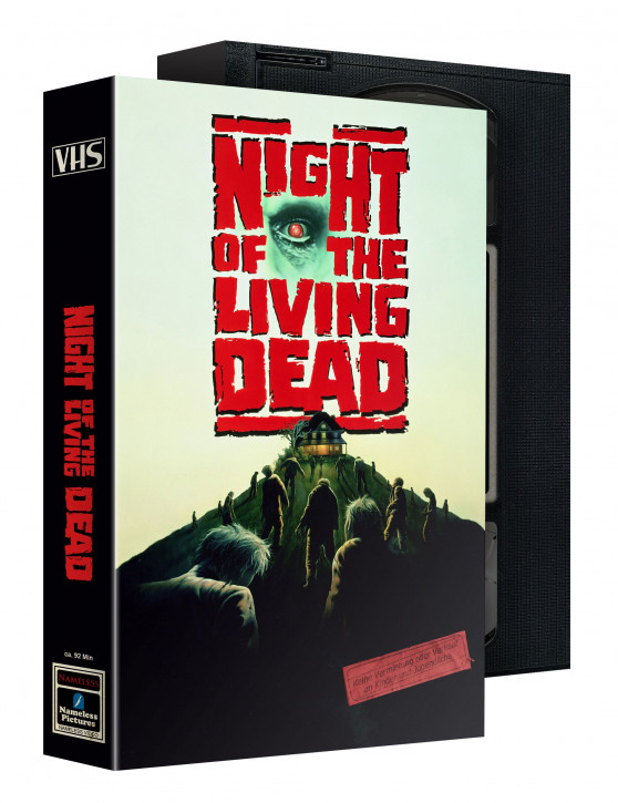 Night of the Living Dead (1990)- Limited VHS Edition [Blu-ray+DVD]