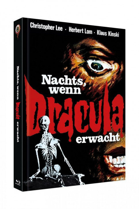 Nachts, wenn Dracula erwacht - Limited Collectors Edition Cover A [Blu-ray+DVD]