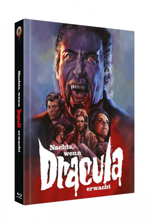 Nachts, wenn Dracula erwacht - Limited Collectors Edition Cover C [Blu-ray+DVD]