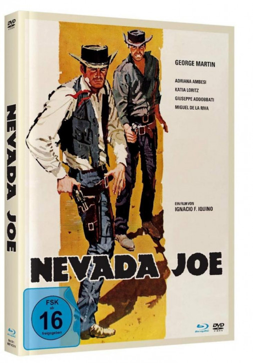 Nevada Joe - Mediabook - Cover A [Blu-ray+DVD]