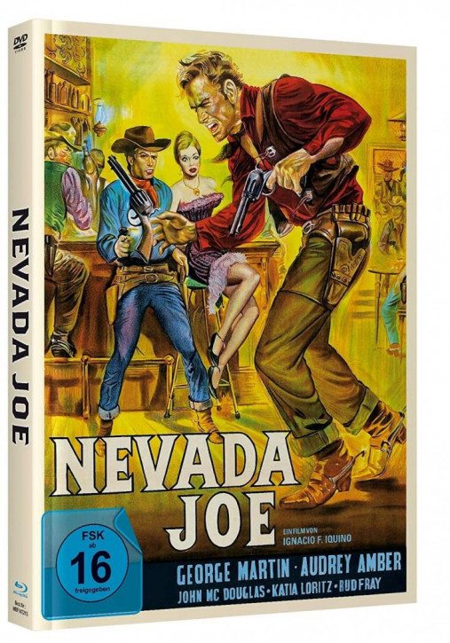 Nevada Joe - Mediabook - Cover B [Blu-ray+DVD]