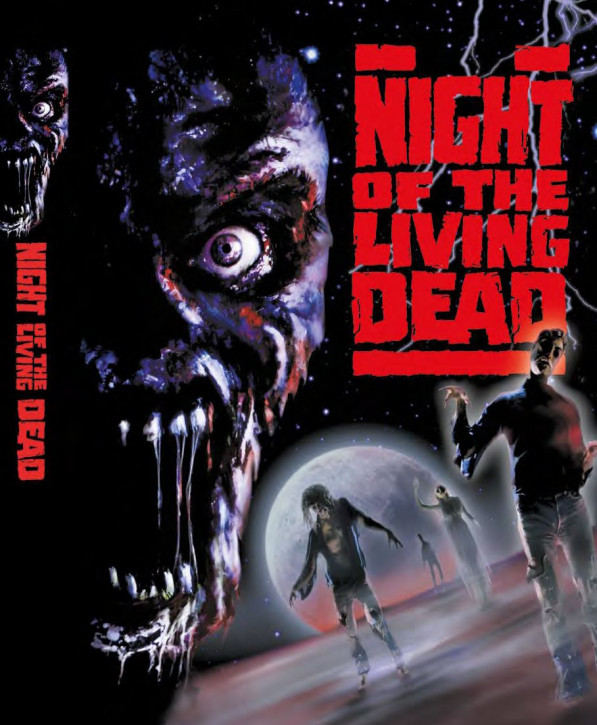 Night of the Living Dead (1990)- Limited Mediabook - Cover A [Blu-ray+DVD]