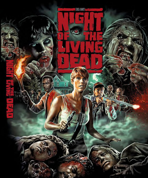 Night of the Living Dead (1990)- Limited Mediabook - Cover B [Blu-ray+DVD]