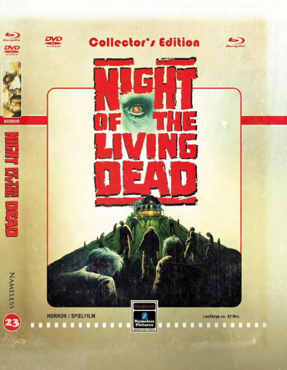Night of the Living Dead (1990)- Limited Mediabook - Cover D [Blu-ray+DVD]