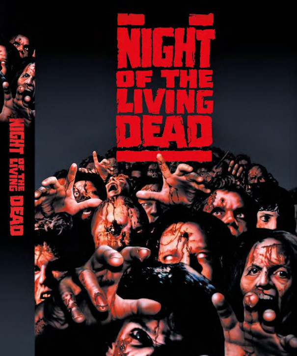 Night of the Living Dead (1990)- Limited Mediabook - Cover E [Blu-ray+DVD]
