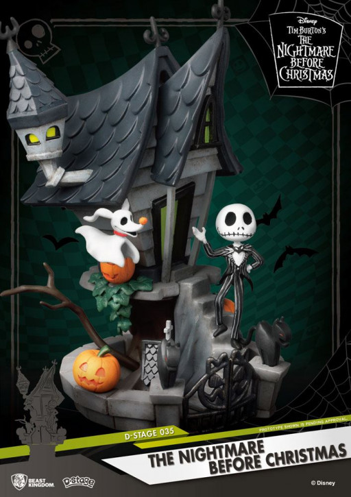 Nightmare before Christmas: Diorama Stage 35 - Jack's Haunted House