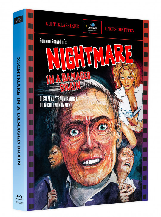 Nightmare in a Damaged Brain - Mediabook - Cover A [Blu-ray]