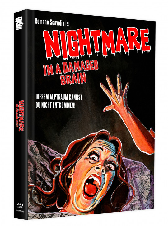 Nightmare in a Damaged Brain - Mediabook - Cover B [Blu-ray]