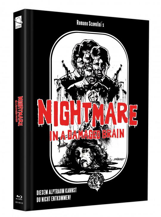 Nightmare in a Damaged Brain - Mediabook - Cover D [Blu-ray]
