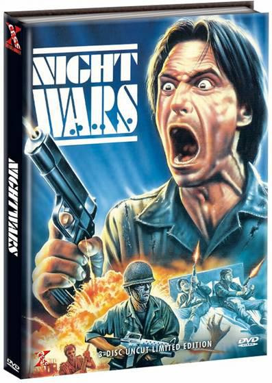 Nightwars - Triple Action Pack - Limited Mediabook Edition [DVD]