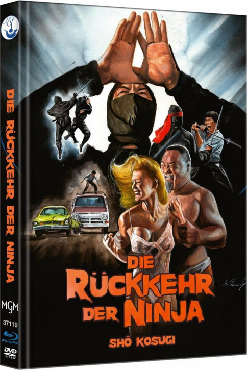 Ninja II - Die Rückkehr der Ninja - Limited Mediabook Edition - Cover A [Blu-ray-DVD]