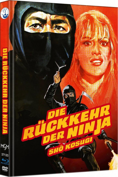 Ninja II - Die Rückkehr der Ninja - Limited Mediabook Edition - Cover B [Blu-ray-DVD]
