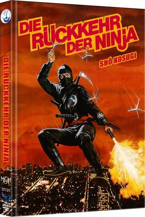 Ninja II - Die Rückkehr der Ninja - Limited Mediabook Edition - Cover C [Blu-ray-DVD]