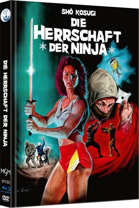 Ninja III - Die Herrschaft der Ninja - Limited Mediabook Edition - Cover A [Blu-ray-DVD]