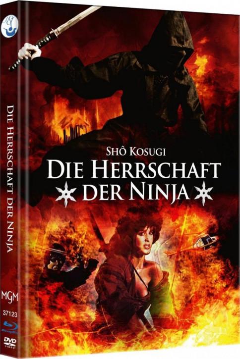 Ninja III - Die Herrschaft der Ninja - Limited Mediabook Edition - Cover B [Blu-ray-DVD]