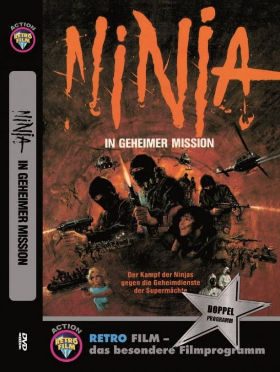 Ninja in geheimer Mission - große  Hartbox [DVD]
