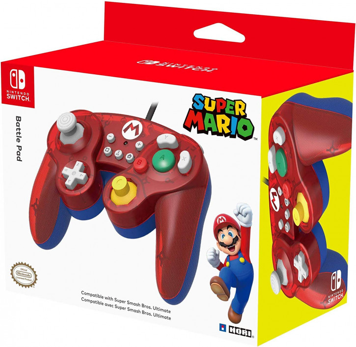 HORI Nintendo Switch Battle Pad (Mario) Controller [Nintendo Switch]