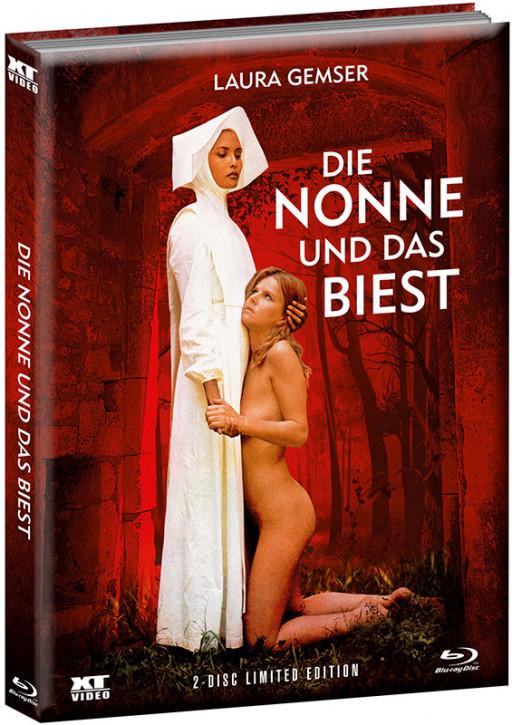 Die Nonne und das Biest - Limited wattiertes Mediabook [Blu-ray+DVD]