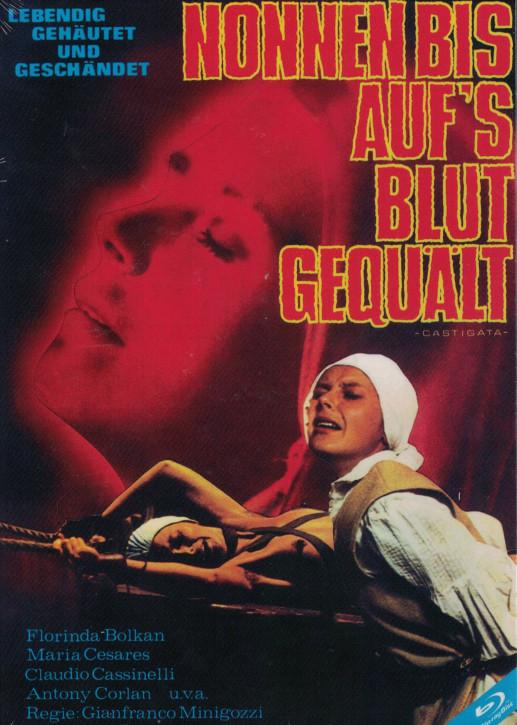 Nonnen bis aufs Blut gequält - Castigata, die Gezüchtigte - kleine Hartbox [Blu-ray]