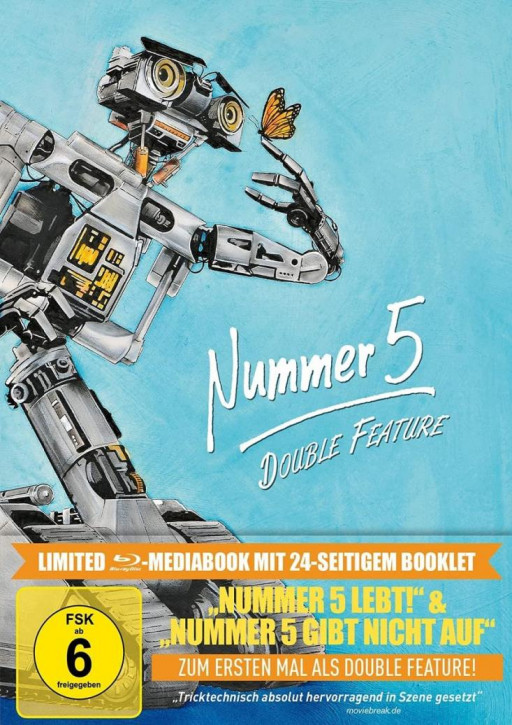 Nummer 5 - Double Feature - Limited Mediabook Edition [Blu-ray]