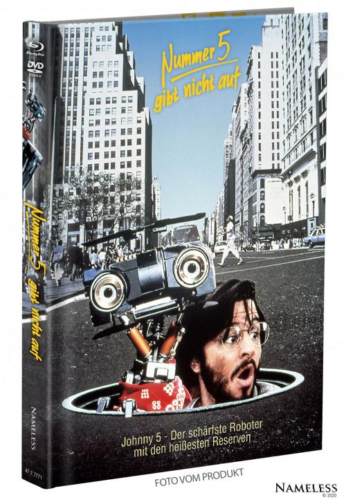 Nummer 5 gibt nicht auf - Limited Mediabook - Cover A [Blu-ray+DVD]