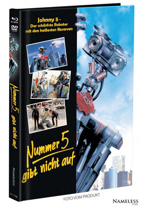 Nummer 5 gibt nicht auf - Limited Mediabook - Cover B [Blu-ray+DVD]