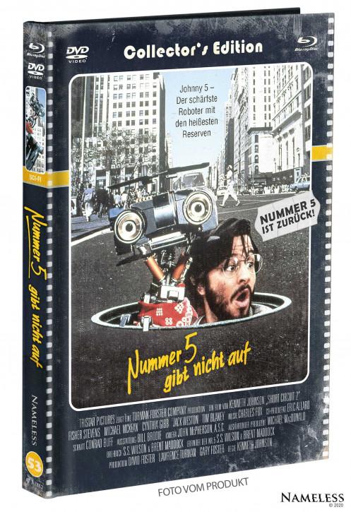Nummer 5 gibt nicht auf - Limited Mediabook - Cover D [Blu-ray+DVD]