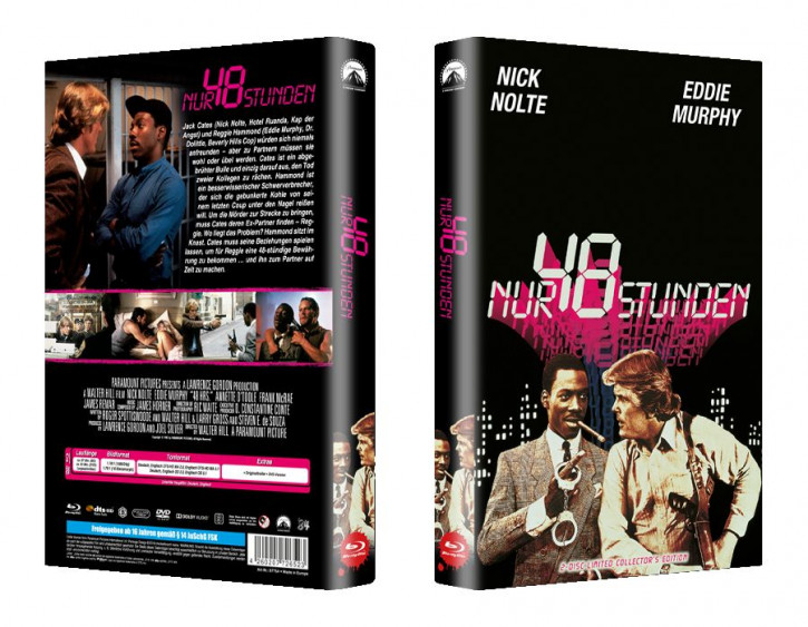 Nur 48 Stunden - große Hartbox - Cover A [Blu-ray]