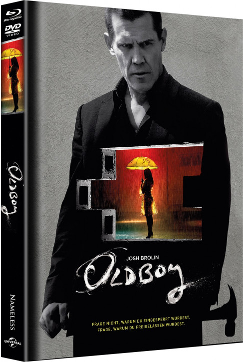 Oldboy - Limited Mediabook - Cover A [Blu-ray+DVD]