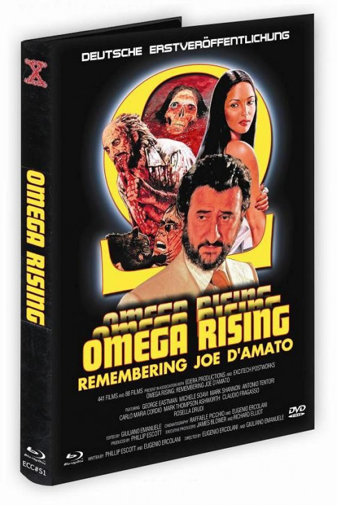 Omega Rising - Eurocult Collection Sonderedition #1 - Mediabook [Blu-ray+DVD]