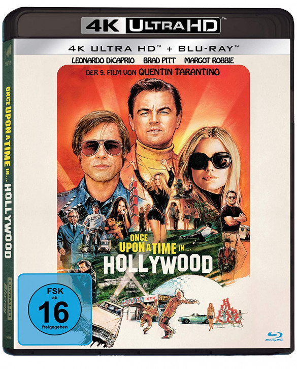 Once Upon A Time In… Hollywood [4K UHD Blu-ray]